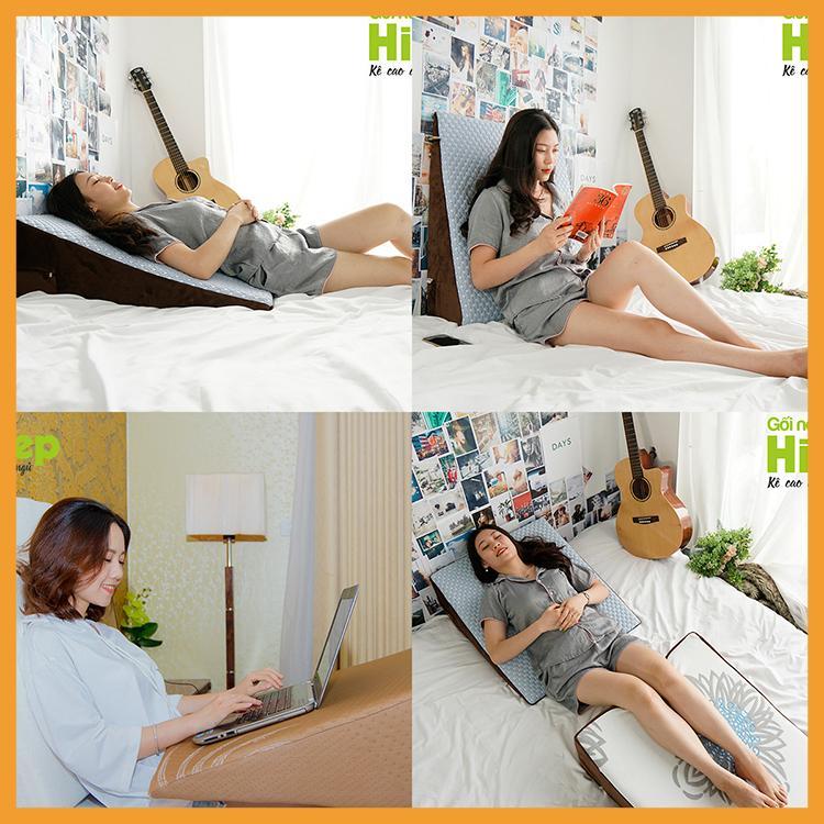 Cách sử dụng gối chống trào ngược dạ dày Hi-Sleep