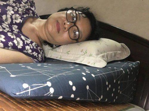 Gối hỗ trợ chống trào ngược dạ dày cho người lớn Hi-Sleep photo review
