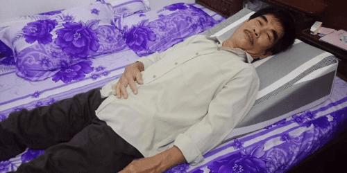 Gối nêm hỗ trợ chống trào ngược dạ dày cho người lớn Hi-Sleep photo review